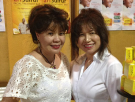 Ms. Felice Campbell (L) and Dr. Patricia Yap (R)